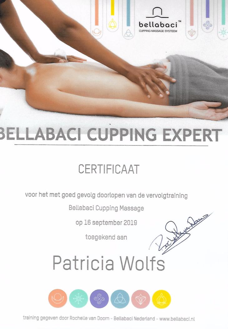 Certificaat Bellacaci Expert